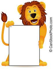ライオン, 旗
