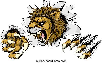 ライオン, 破壊的である, から