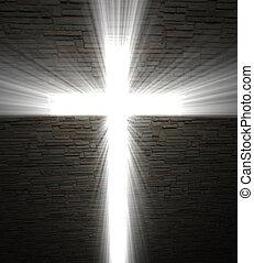 ライト, キリスト教徒, 交差点