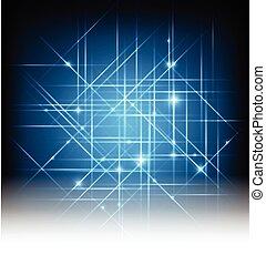 ライト, 抽象的, ベクトル, 背景