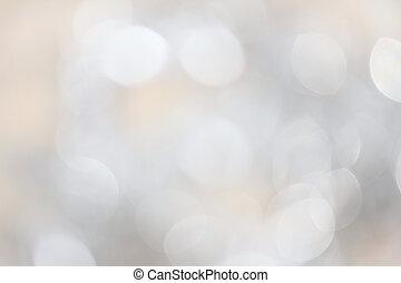 ライト, bokeh, 銀