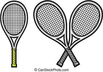 ラケット, テニス