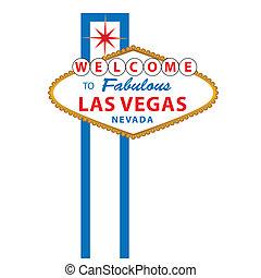 ラスベガス, 歓迎された 印