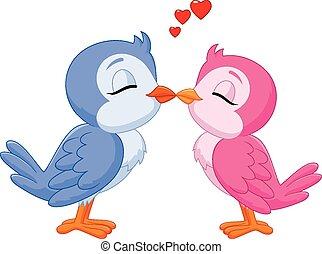 ラブ羽の鳥, 接吻, 2, 漫画