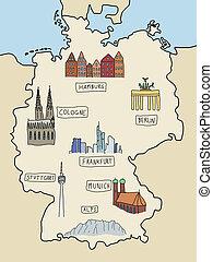 ランドマーク, ドイツ