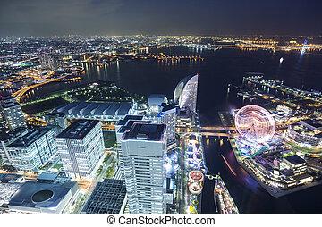 ランドマーク, 上, 横浜, 観点