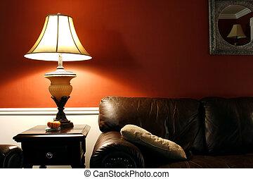 ランプ, ソファー