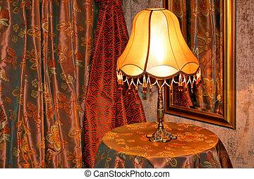 ランプ, 横