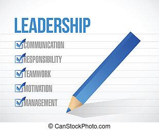 リスト, イラスト, 印, リーダーシップ, デザイン, 点検