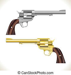 リボルバー銃