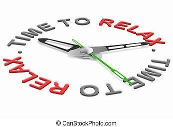 リラックス, 時間
