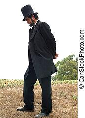 リンカーン;アブラハム, 生きている