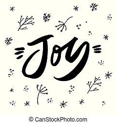 レタリング, 休日, 世界, 喜び