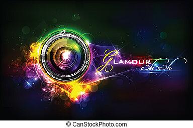 レンズ, カメラ