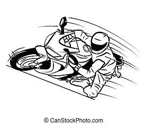レース, moto