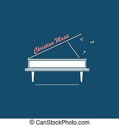 ロゴ, キリスト教徒, 音楽