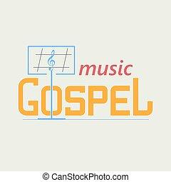 ロゴ, ゴスペル, 音楽