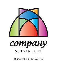 ロゴ, ステンドグラス