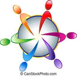 ロゴ, チームワーク, 共同体