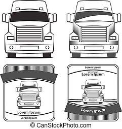 ロゴ, トラック, 交通機関