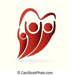 ロゴ, 愛, 家族