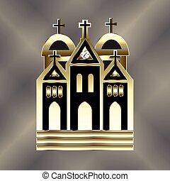 ロゴ, 教会, アイコン