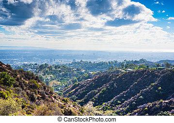 ロサンゼルス, 見られた, bronson, 峡谷