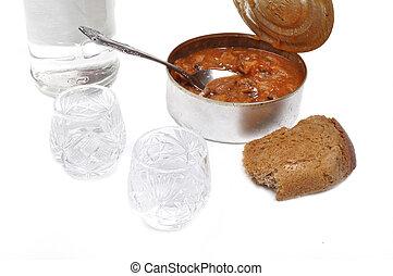 ロシア人, ウォッカ, bread