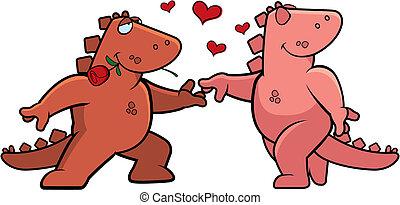 ロマンス語, 恐竜