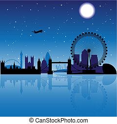 ロンドン, 夜