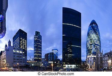 ロンドン, 財政 地区