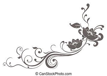 ロータス, パターン, 花