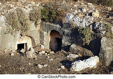 ローマ人, necropolis