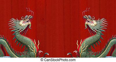 ワット, 巨人, muang, 中国のドラゴン