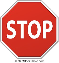 一時停止標識