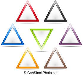 三角形, サイン