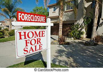 不動産, 受戻権喪失, 家, 販売サイン