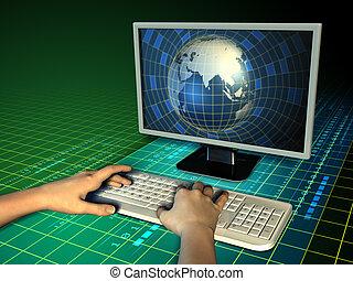 世界, コンピュータ