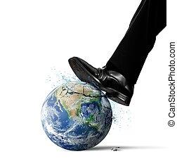 世界, 破壊