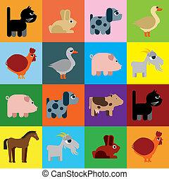世間知らず, 動物, raster, 風刺漫画
