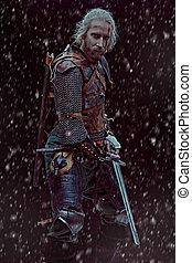中世, 戦士, 勇士