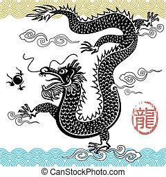 中国のドラゴン, 伝統的である