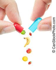 丸薬, ビタミン