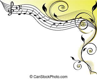主題, 音楽