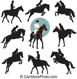 乗馬者スポーツ