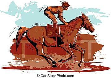 乗馬者, 概念, スポーツマン