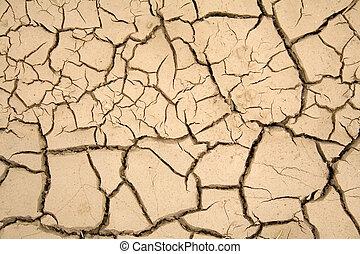 乾きなさい, 土壌, 世界的である, -, 暖まること