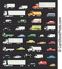 交通渋滞, 交通機関, 道, 道