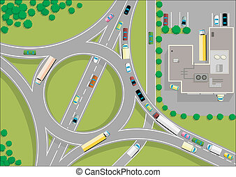 交通, roundabout