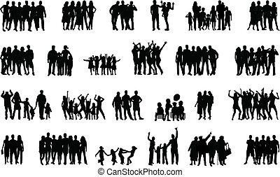 人々, グループ